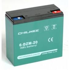 Тяговый аккумулятор Chilwee Battery 6-DZM-20