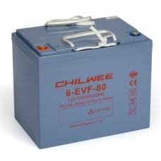 Тяговый аккумулятор Chilwee Battery 6-EVF-80