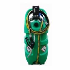 Мини АЗС Emiliana Serbatoi  Emilcaddy 110 бензин, электронасос 12В, 3 м шланг антистатик, 4 м кабель заземления, ручной пистолет (EMILCADDY110B1EX50ATEXADR)