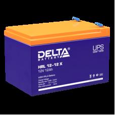 Аккумулятор Delta HRL 12-12 X