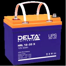 Аккумулятор Delta HRL 12-33 X