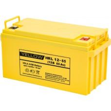 АКБ Yellow HRL 12-65