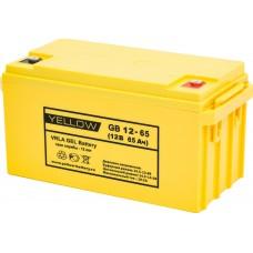 АКБ Yellow GB 12-65