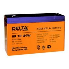 Аккумулятор Delta HR 12-24W