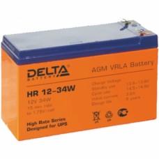 Аккумулятор Delta HR 12-34W