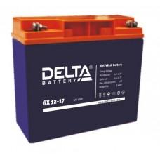 Аккумулятор Delta GX 12-17 Xpert