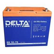 Аккумулятор Delta GX 12-75 Xpert