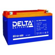 Аккумулятор Delta GX 12-100 Xpert