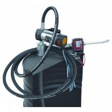 Бочковой комплект для раздачи и перекачки масла со счетчиком PIUSI  DRUM VISCOMAT 60/1 24 V