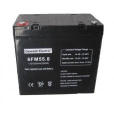 АКБ Gewald Electric 6FM55